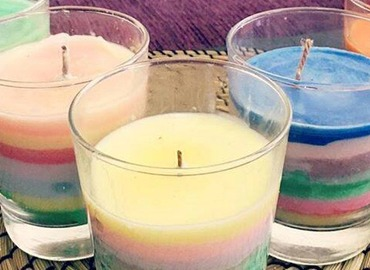 Rainbow Multi-Scented Candle Making Workshop