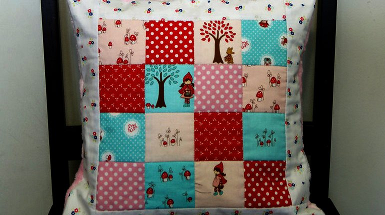 Make Your Own Patchwork Pillow