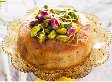 Sticky Lemon Cake with Ottolenghi Pastry Chef