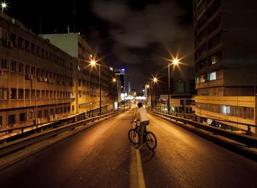 הצד האפל של התחנה המרכזית הישנה - סיור לילה