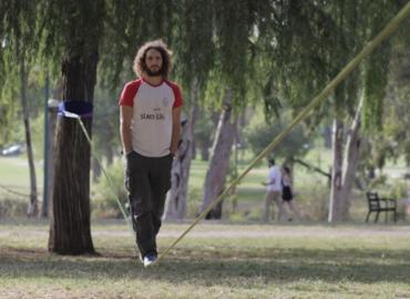 סדנת סלקליין - הליכה על רצועה