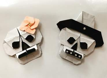 Halloween Origami Making