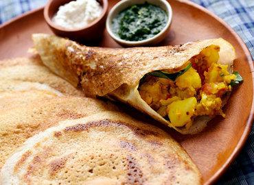 סודות וטעמים מדרום הודו :  סדנת בישול וארוחה טבעונית