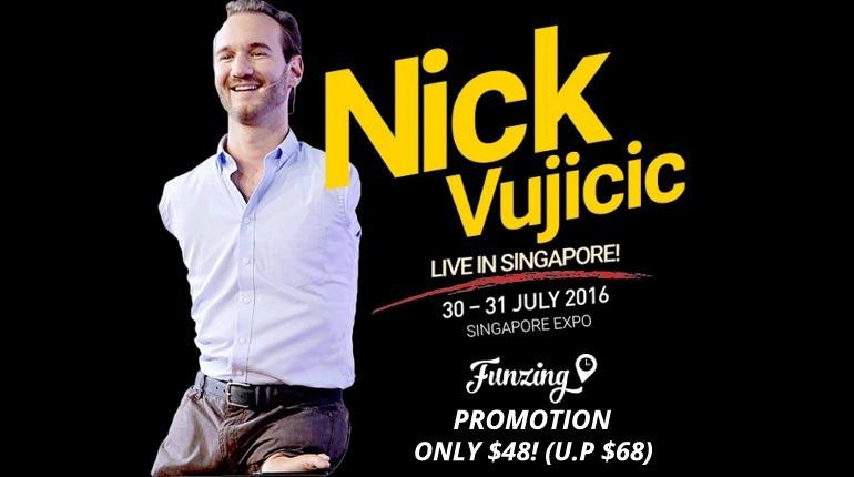 Success2016 : Nick Vujicic Live in Singapore