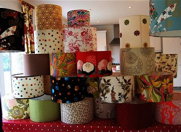 Make Your Own Funky Lampshade