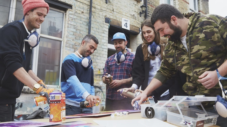 Graffiti & Street Art Workshop in London