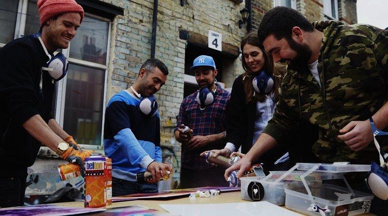 Graffiti & Street Art Workshop in London