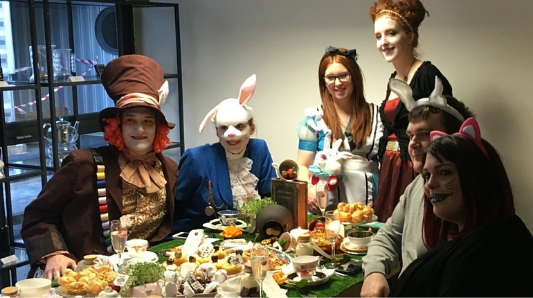 Get in Fancy Dress for a Mad Hatters Tea party