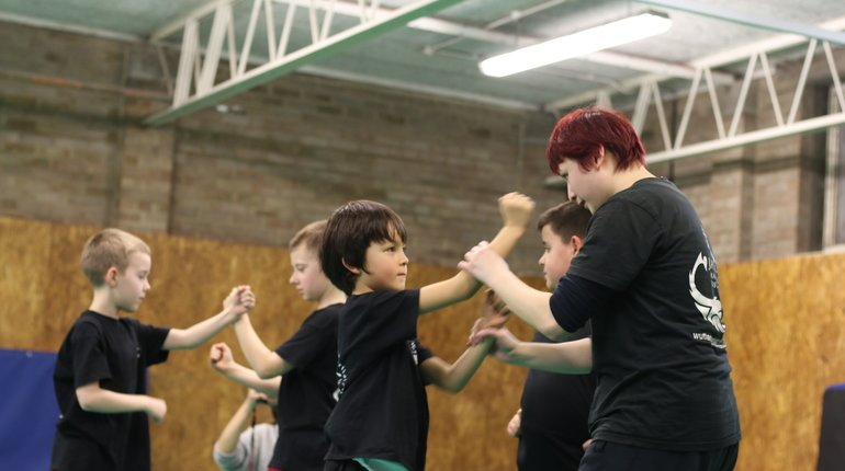 Kids Wing Chun in East London Stratford