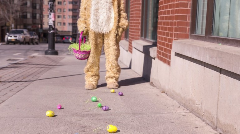 Who Bunny Dunnit?  An Adults Easter Hunt