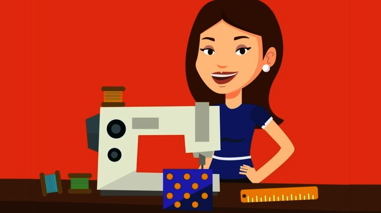 Anyone Can Use a Sewing Machine