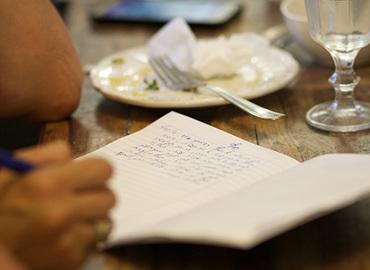 לאכול ולכתוב - כתיבה בהשראת טעמים