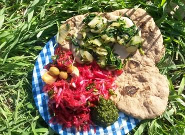 מפגש ליקוט ובישול בטבע לכבוד בוא הסתיו