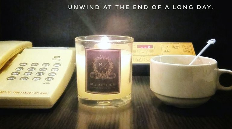 Organic Aromatherapy Candle + Reed Diffuser