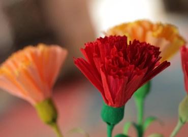 בואו להכין פרחי נייר מיוחדים לקראת האביב!