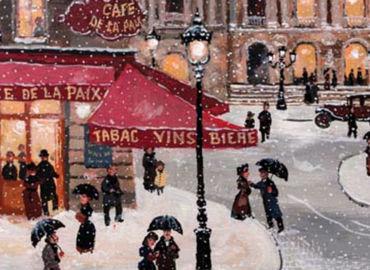 Paint Paris in Winter + Wine & Antipasti!