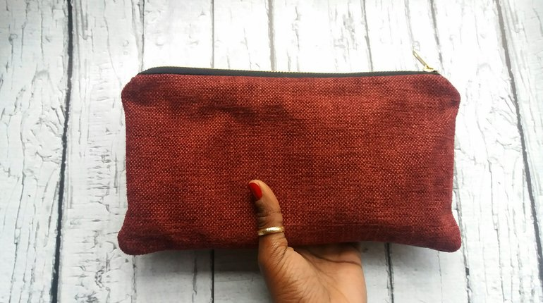 Make a personalised clutch bag or purse