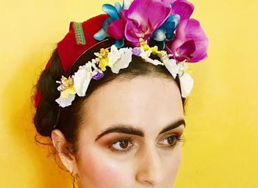Make A Frida Kahlo Headpiece