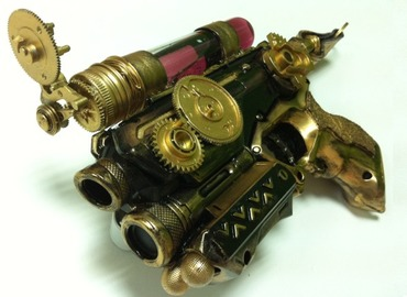 Create Your Own Steampunk Ray Gun