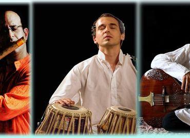 חוויה מדידטיבית-מוסיקה הודית ותאלי צמחוני עם צ'אנצ'ל