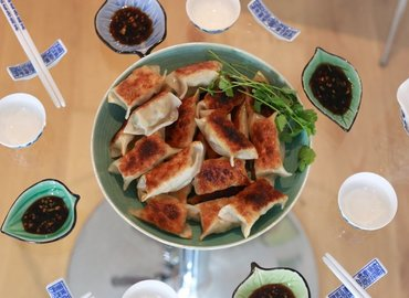 Learn to make Chinese Dumplings with Ally