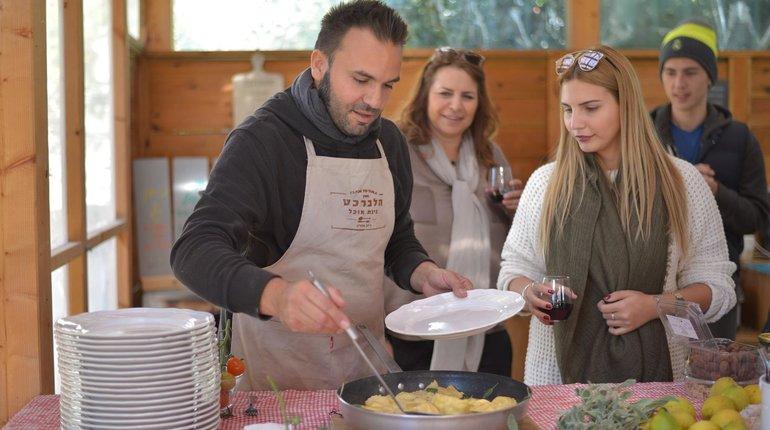 איטליה בבית: בישול איטלקי עם מסימיליאנו ממאסטר שף