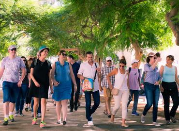 סיור תוכן מעורר השראה בתל אביב