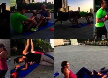 FXP Boxing HIIT @ Marina Bay