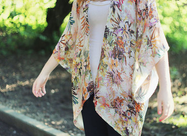 Make a Kimono wrap in a bitesize workshop!