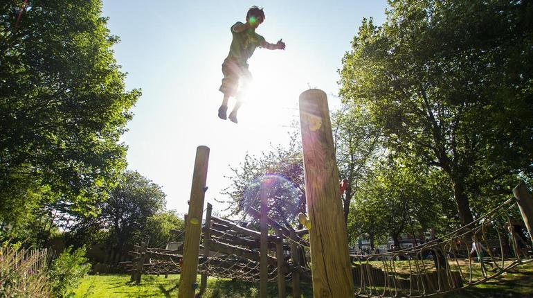 Experience a Parkour Outdoor Class