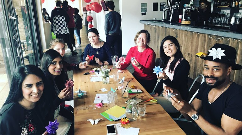 POP UP JAPAN -  Summer Origami Making @ Proud East