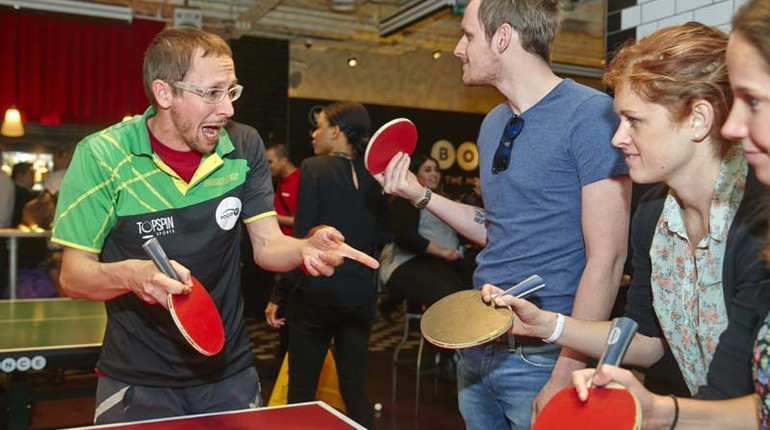 Become a Vintage Ping Pong Wizard