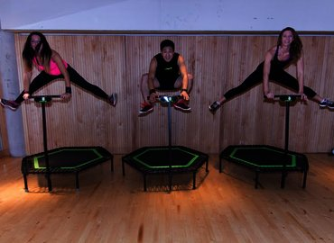 Jumping Fitness Trampoline Workout in Finchley