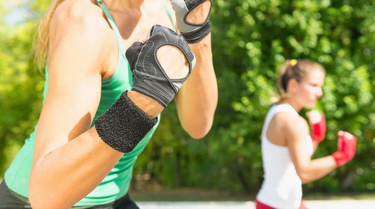 Try Outdoor Kickboxing! (Marina Bay)
