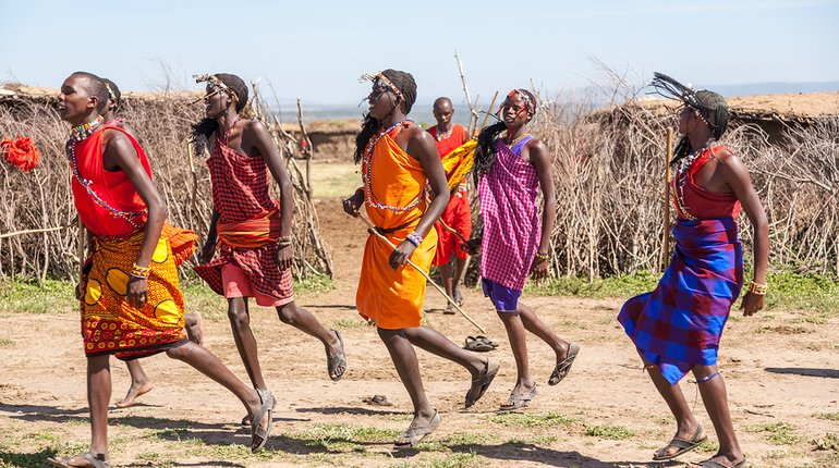 Ancient Tribal African Dancing Workshop