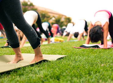 Try Outdoor Pilates! (Botanic Gardens)