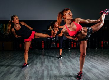 Kickboxing Class with Certified Master Trainer