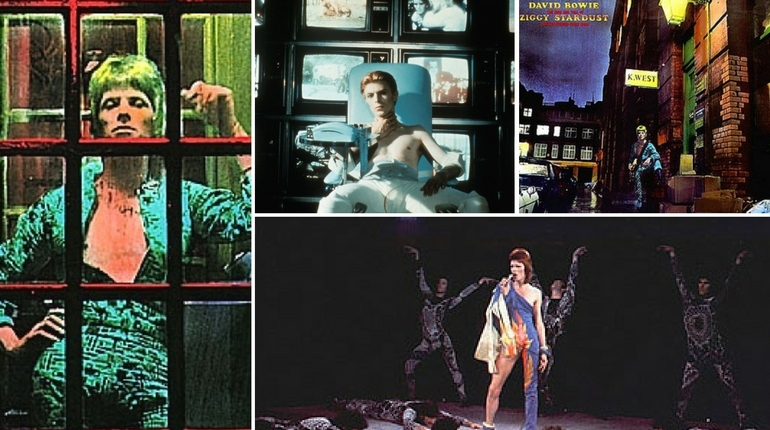 David Bowie's Soho Walking Tour