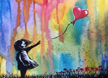Paint like Banksy! in Shoreditch