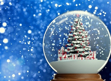 Make Your Own Customized 3D Snow Globe!