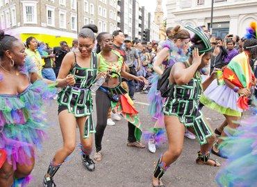 Hendo in Caribbean Carnival Style !