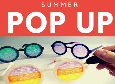 Summer Pop Ups ||Make your own Shades with a 3D Pen