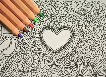 Relieve Your Stress with Mindfulness Drawing