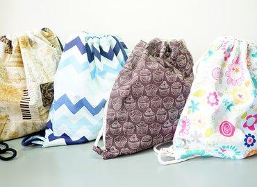 Make a Fun Drawstring Backpack