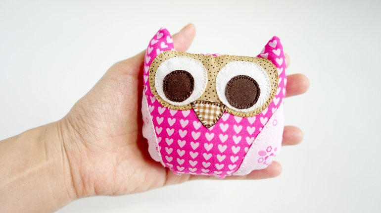 Learn How to Sew a Cute Owlet