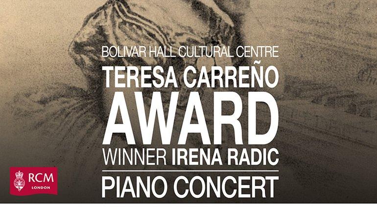 Teresa Carreño Awards Winner Piano Concert