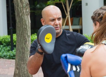 Boxing HIIT @ Mapletree Business City