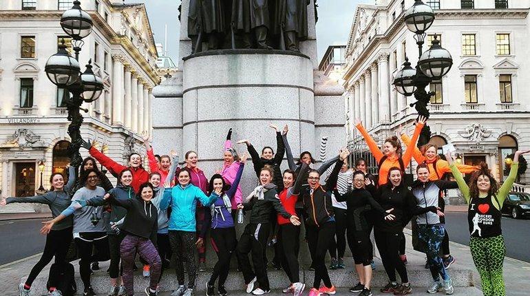London's Power Women Running Tour