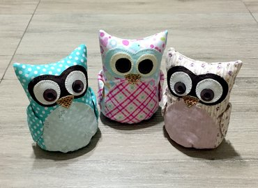 Sew Your Own Owl Plushie