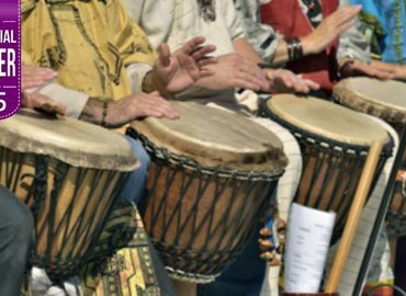 Ancient Tribal Drumming Workshop for £5